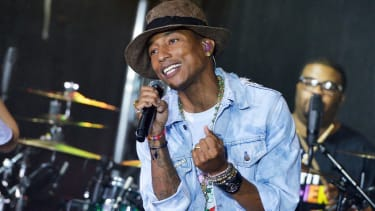 Pharrell is a 'low-wage villain' for singing at Walmart, says labor union