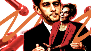 Elizabeth Warren and Paul Ryan.