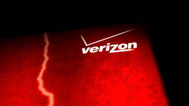 The Verizon logo.