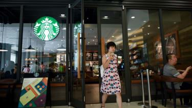 A Starbucks in Beijing.