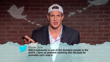 Jimmy Kimmel Live shows Mean Tweets NFL Edition 2