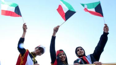 Kuwait teenagers.