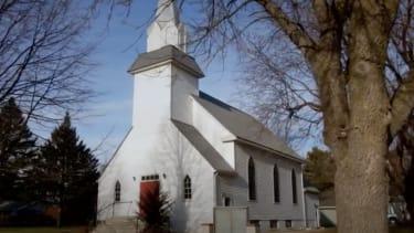 The church in Murdock, Minnesota.