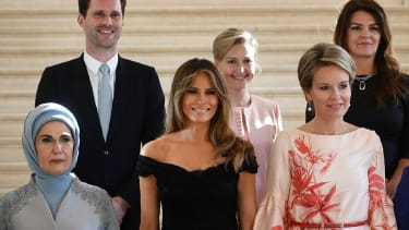 G7 first ladies and Gauthier Destenay.