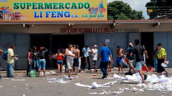 A supermarket in Venezuela.