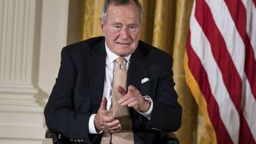 Former President George H. W. Bush.