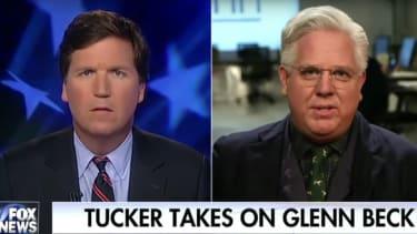Tucker Carlson and Glenn Beck.