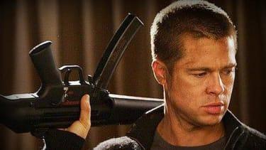 Brad Pitt says he's been a gun owner since he was in kindergarten