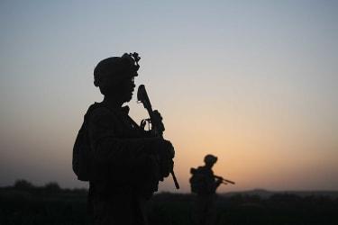 U.S. troops in Afghanistan.