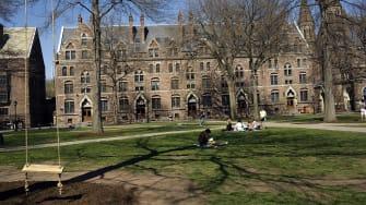 The Yale University campus.