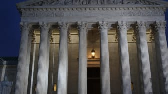 A dark sky clouds the Supreme Court before its upcoming battle with abortion rights.