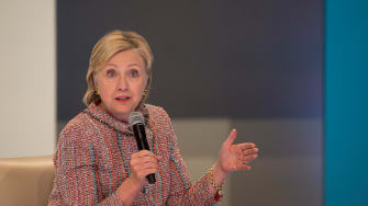 The government has asked for a 27-month delay for the release of Hillary Clinton's emails to the public.