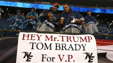 Real sports fans appeal to Trump.
