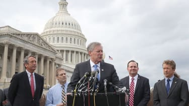 Mark Meadows discusses the ObamaCare replacement with the Freedom Caucus.