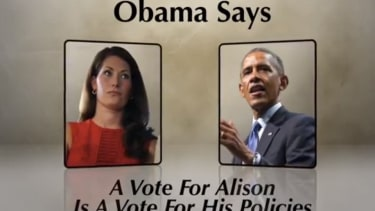 Republican senators go after Obama comment in new ad: 'These policies are on the ballot'