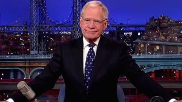 David Letterman signs off