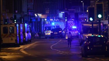 Emergency vehicles in London