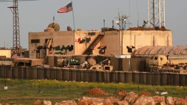 A U.S. military base in Syria.