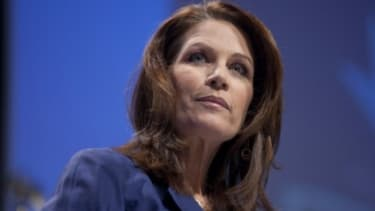 """Rep. Michele Bachmann (R-Minn.) got her presidential campaign off to an inauspicious start on Monday by inadvertently suggesting that she has the """"spirit"""" of a serial killer."""