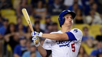 The Dodger's star shortstop Corey Seager.