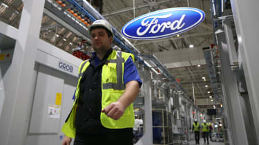 A Ford plant in England.
