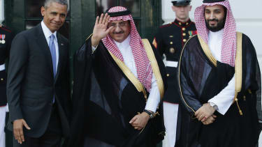 Obama welcomes Saudi Crown Prince Mohammed bin Nayef and Deputy Crown Prince Mohammed bin Salman to the White House