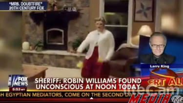 Fox News accidentally mourns Robin Williams with fake Mrs. Doubtfire clip