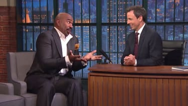 Steve Harvey shares his favorite worst answers on Family Feud