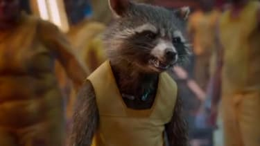 The new Guardians of the Galaxy trailer gives us more of that talking space raccoon