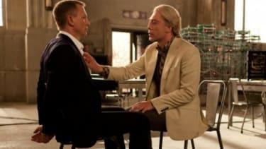 """Daniel Craig and Javier Bardem in """"Skyfall"""""""
