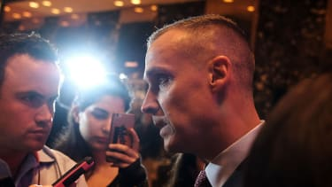 Corey Lewandowski defended a tweet by Donald Trump that has been called out for being antisemitic.
