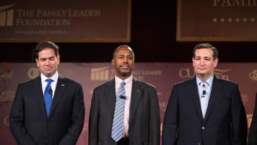 Marco Rubio, Ben Carson, and Ted Cruz.