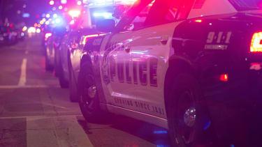 A Dallas police car.
