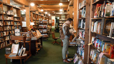 The Tattered Cover independent bookstore, in Denver.