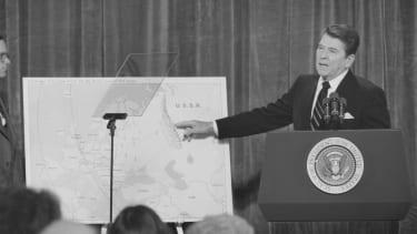 President Reagan in November 1981