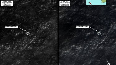 This is the possible Malaysia Flight 370 wreckage that Australia is chasing down