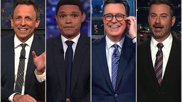 Late night hosts on Trump's coronavirus response