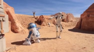 Tunisia promotes tourism with a Star Wars-themed 'Happy' dance