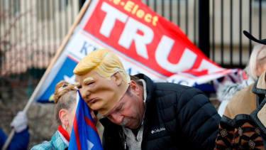 Trump supporter in Michigan