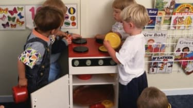 A preschool in Sweden is trying to stave off gender stereotypes by grouping Legos and baking toys together, and banning gender pronouns.