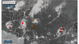 Two-Day Tropical Weather Outlook.
