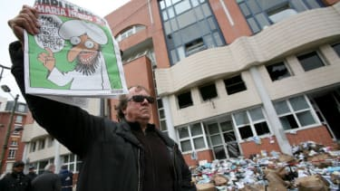 Charlie Hebdo stirred controversy — and violent reactions — long before shooting attack