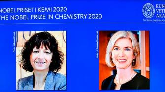 2020 Nobel Chemistry laureates