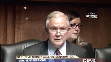 Jeff Sessions grills Sally Yates in 2015