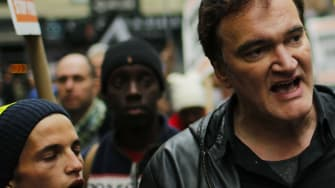 Quentin Tarantino protests police brutality, and gets pushback from police unions