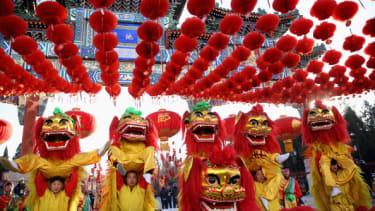 Lunar New Year celebrations.