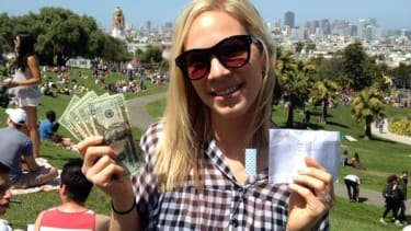 Mysterious millionaire is leaving envelopes filled with cash all over San Francisco