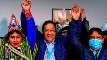 Bolivian President-Elect Luis Arce