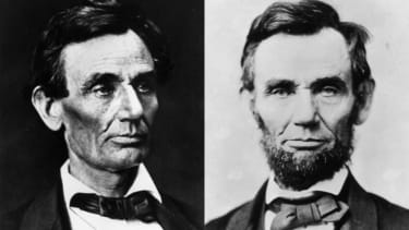 """America can thank young Grace Bedell for her courageous efforts in convincing Abe to grow out his """"whiskers."""""""