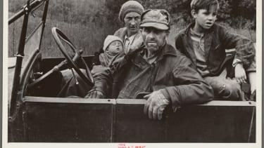 A destitute family, Ozark Mountains, Arkansas, 1935.